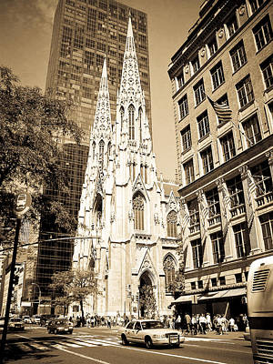 Photograph - Cathedral Of Saint Patrick by Mickey Clausen