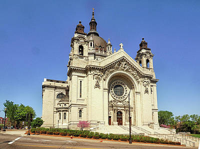 Photograph - Cathedral Of Saint Paul by C H Apperson