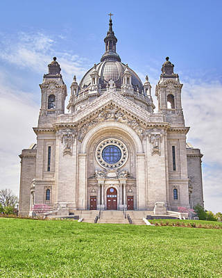 Photograph - Cathedral Of Saint Paul, In St. Paul Minnestoa by Jim Hughes