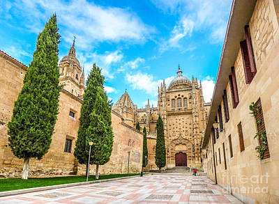 Photograph - Cathedral Of Salamanca by JR Photography