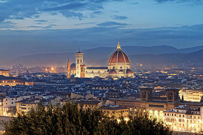 Photograph - Cathedral Of Santa Maria Del Fiore by Adam Rainoff