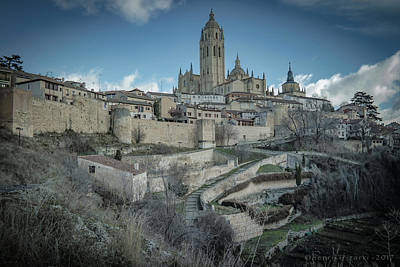 Photograph - Cathedral Of Segovia by Henri Irizarri