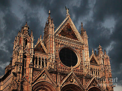 Cathedral Of Siena Art Print by Jim Wright