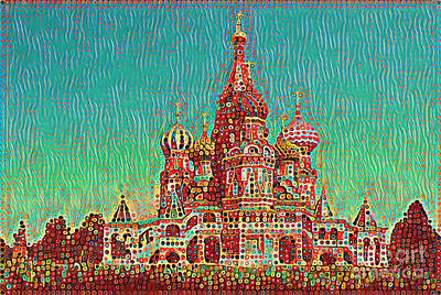 Photograph - Cathedral Of St. Basil, Moscow Russia by Wernher Krutein