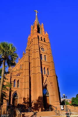 Photograph - Cathedral Of St. John The Baptist Charleston Sc by Lisa Wooten
