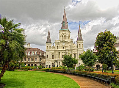 Cathedral Of St. Louis New Orleans Original by Jim Sweida