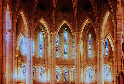 Photograph - Cathedral Of St Stephen by Susan Vineyard