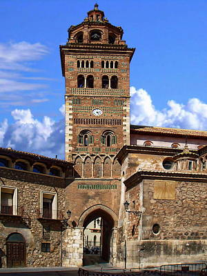 Photograph - Cathedral Of Teruel by Anthony Dezenzio