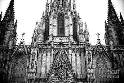 Photograph - Cathedral Of The Holy Cross And Saint Eulalia by John Rizzuto