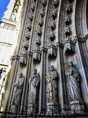 Photograph - Cathedral Of The Holy Cross - Barcelona by Colleen Kammerer