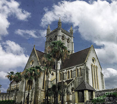 Photograph - Cathedral Of The Most Holy Trinity Bermuda by Luther Fine Art