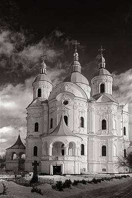 Photograph - Cathedral Of The Nativity Of The Virgin. Kozelets, 2017. by Andriy Maykovskyi