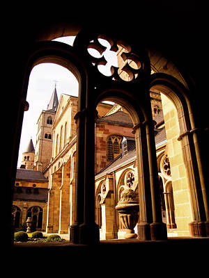 Photograph - Cathedral Of Trier Window by Steven Myers