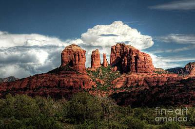 Cathedral Rock Photograph - Cathedral Rock - Sedona  by Saija  Lehtonen