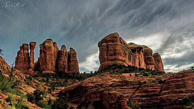 Photograph - Cathedral Rock 06-027 by Scott McAllister