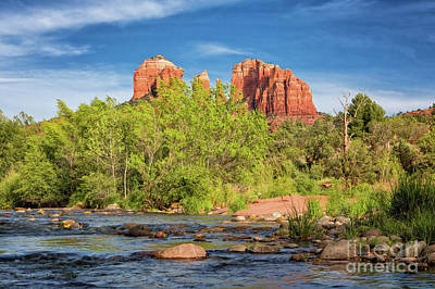 Cathedral Rock 313 Art Print by Maria Struss