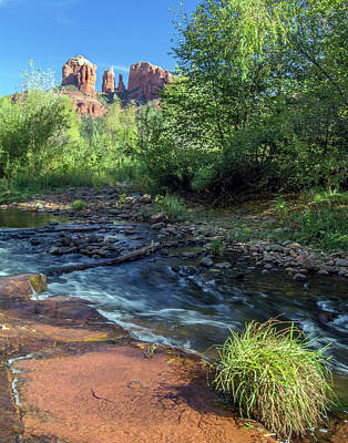 Photograph - Cathedral Rock 7736-101717-3cr by Tam Ryan