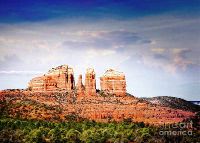 Photograph - Cathedral Rock I by Scott Kemper