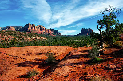 Cathedral Rock Photograph - Cathedral Rock In Arizona by USFS Deborah Lee Soltesz