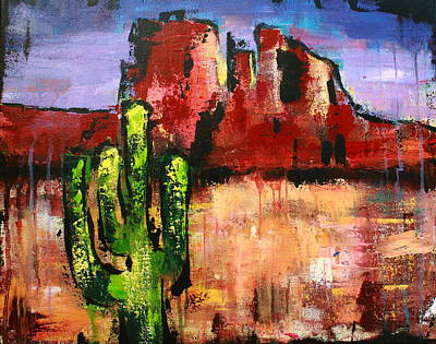 Cathedral Rock Painting - Cathedral Rock by Kayla Mallen