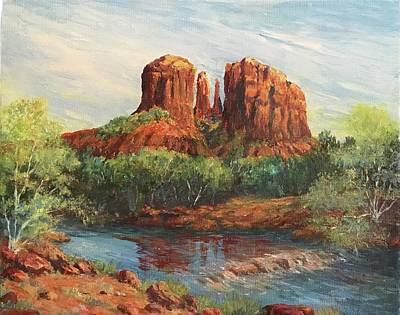 Cathedral Rock Painting - Cathedral Rock by ML McCormick
