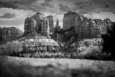 Cathedral Rock Art Print by Robert Davis