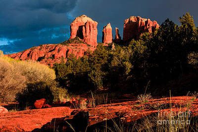 Photograph - Cathedral Rock Sedona 1 by Ben Graham
