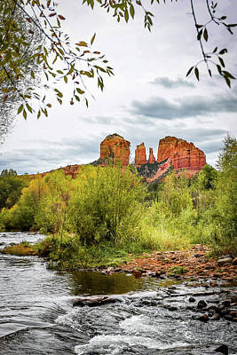 Cathedral Rock - Sedona Arizona Art Print