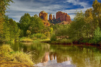 Photograph - Cathedral Rock Sedona Az Dsc09013 by Greg Kluempers