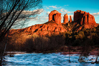 Photograph - Cathedral Rock Sedona by Ben Graham