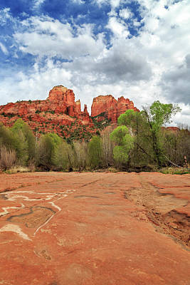 Photograph - Cathedral Rock Sedona by James Eddy