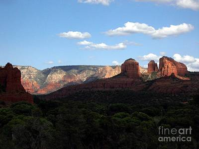Cathedral Rock Sedona Art Print by Jerry Bokowski