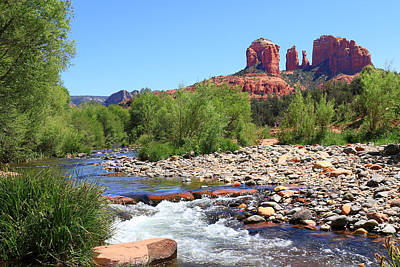 Cathedral Rock - Sedona Art Print by John Absher