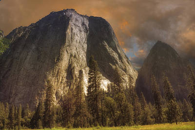 Cathedral Rocks Art Print by Michael Cleere