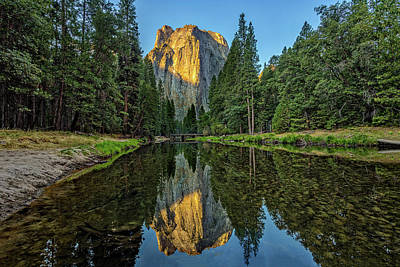 Cathedral Rock Photograph - Cathedral Rocks Morning by Peter Tellone