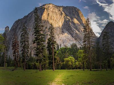 Yosemite Photograph - Cathedral Rocks Path, Yosemite National Park by Gareth Burge Photography