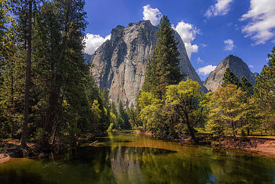 Photograph - Cathedral Rocks Yosemite by Andrew Soundarajan