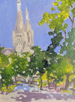 Painting - Cathedral by Rodger Ellingson