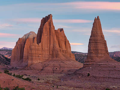 Photograph - Cathedral Sandstone by Leland D Howard