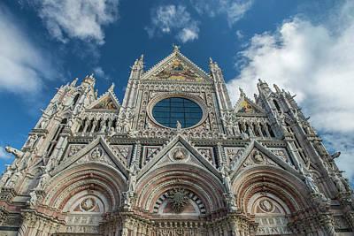 Photograph - Cathedral Santa Maria Assunta In Siena by Radoslav Nedelchev