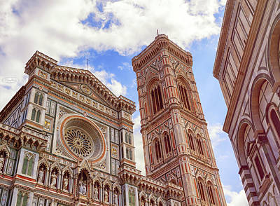 Photograph - Cathedral Santa Maria Del Fiore, Duomo, In Florence, Tuscany, It by Elenarts - Elena Duvernay photo