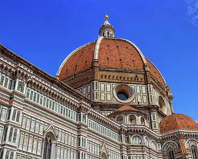 Photograph - Cathedral Santa Maria Del Fiore, Duomo, In Florence, Tuscany, Italy by Elenarts - Elena Duvernay photo