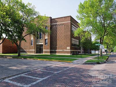 Photograph - Cathedral School Winona Minnesota by Kari Yearous