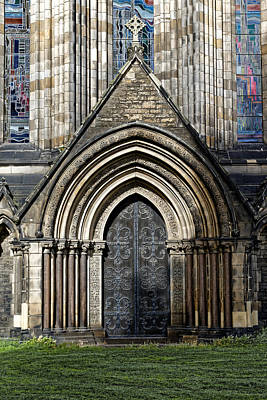 Photograph - Cathedral Side Door by Scott Hill