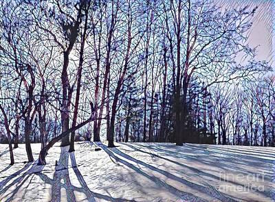 Cathedral Skies Art Print by Margaret Lindsay Holton