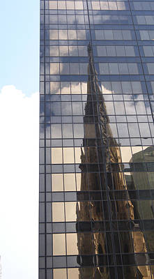 Photograph - Cathedral Spires Reflected by Margie Avellino