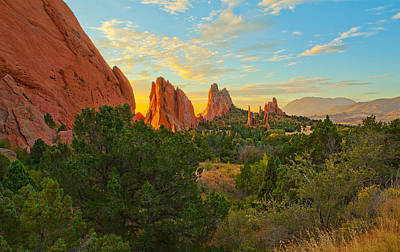 Cathedral Spires Art Print by Tim Reaves