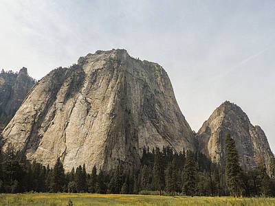 Cathedral Spires Yosemite Valley Yosemite National Park Art Print