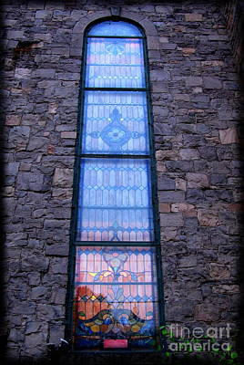 Photograph - Cathedral Stained Glass by Colleen Kammerer