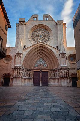 Travel Photograph - Cathedral Tarragona Spain by Joan Carroll